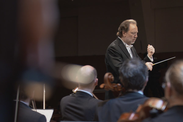Riccardo CHAILLY and  Maria João PIRES at Pleyel