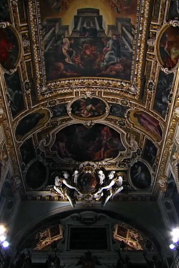 Philippe JAROUSSKI à la chapelle royale de FONTAINEBLEAU